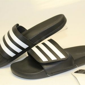 Adidas Mens Sandals NEW Adilette Comfort Slides